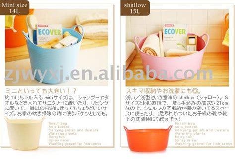 Keranjang Untuk Laundry taman ember penyimpanan plastik keranjang laundry baskom melalui plastik untuk makan