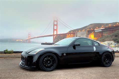 custom black nissan 350z nissan 350z custom wheels rota dpt 18x et tire size