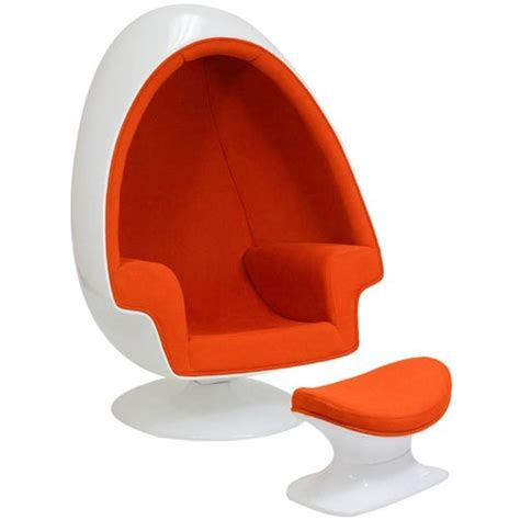 Egg Shaped Chair by 13 Cool Egg Shaped Chairs For Your Home