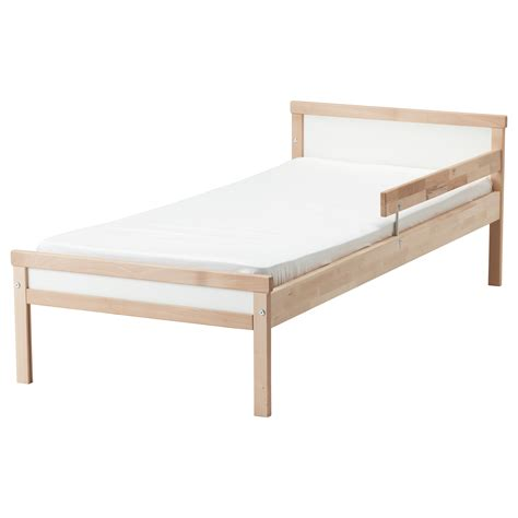 Ikea Toddler Bed Frame Sniglar Bed Frame With Slatted Bed Base Beech 70x160 Cm Ikea
