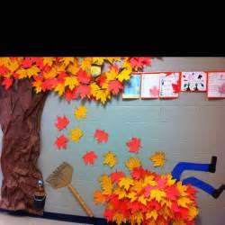 fall hallway decorations paper classroom decoration