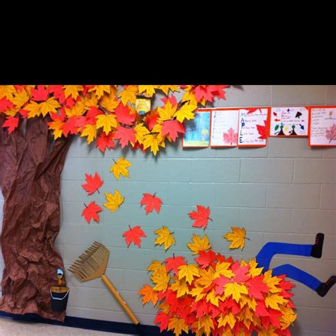 fall classroom decorating ideas fall hallway decorations paper classroom decoration