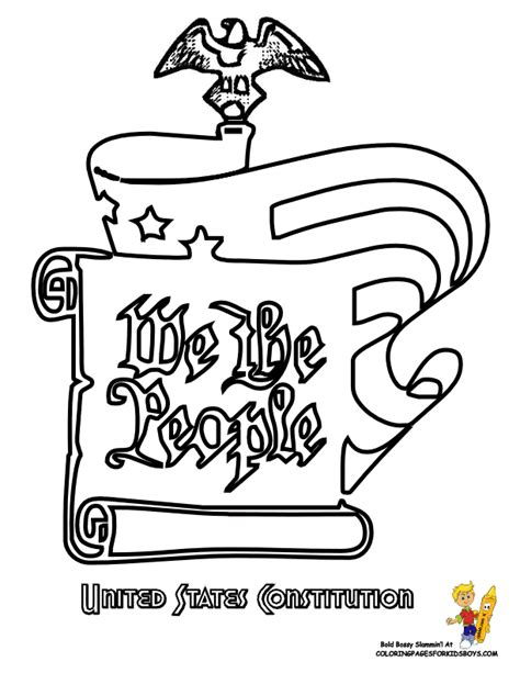 Bill Of Rights Coloring Pages Kids Coloring Page Cavasecreta Com Bill Of Rights Coloring Pages