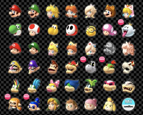 8 Characters That Id To Be by Official Japanese Mario Kart 8 Deluxe Site Launches