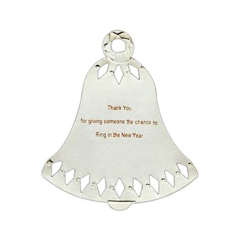 Wedding Bell Ornament by Personalized Bell Ornament Bell Ornaments
