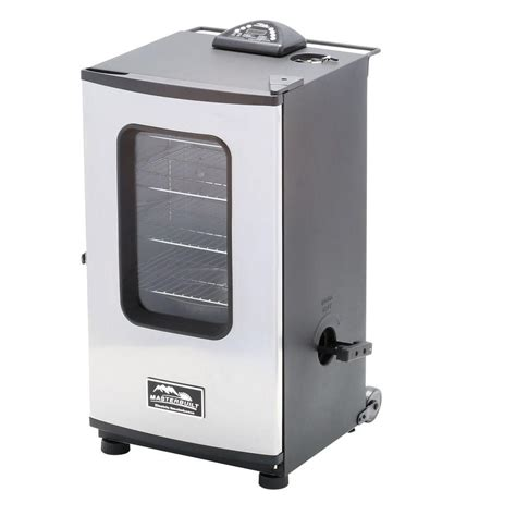 masterbuilt 30 in digital electric smoker with window and