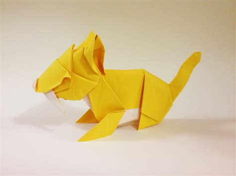Origami Tiger Easy - origami animal heads origami tiger origami tiger