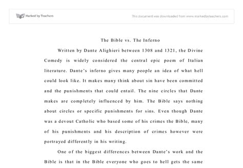 Dante Inferno Essay by Writing Introductions For Inferno Essay