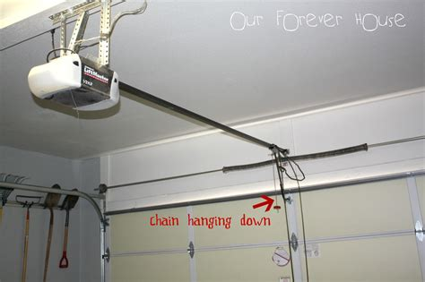 Garage Door Opener Installation Our Forever House Lucky Or Clueless Lessons Learned