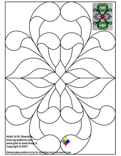 glass painting templates patterns stained glass patterns for free glass pattern 026