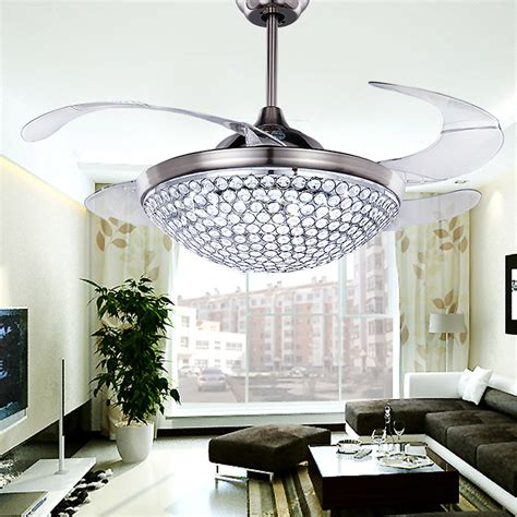 crystal chandelier ceiling fan popular ceiling fan crystal chandelier buy cheap ceiling