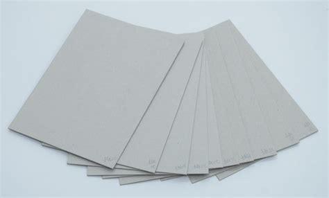 card material recycle material grey paper board 280g grey card paper