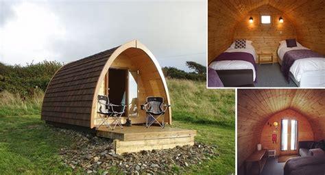 unique camping pods home design garden architecture