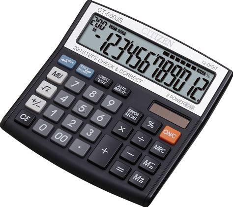 calculator citizen ct 500js citizen calculator