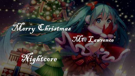 nightcore merry christmas mrlawrence utada hikaru youtube