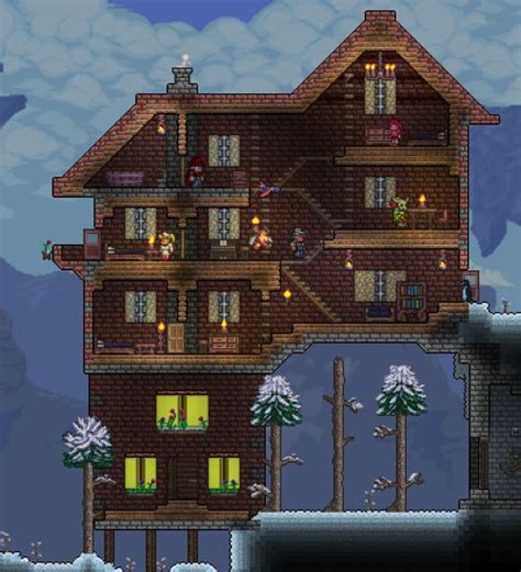 with house building reddit 104 best images about terraria on house design winter house and click