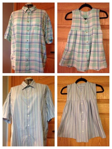 creative ways  repurpose mens shirt