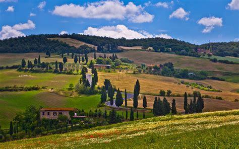 camino italia 193 rboles casas camino italia fondos de pantalla
