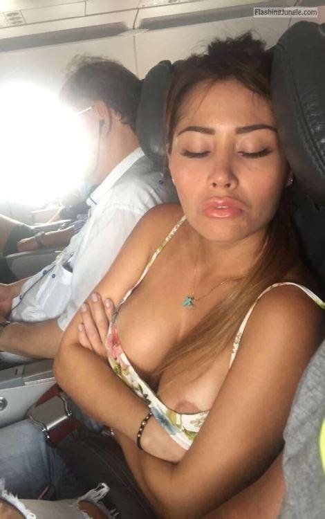 Sleeping Girl Nipple Slip In Plane Boobs Flash Pics Public Flashing Pics Voyeur Pics