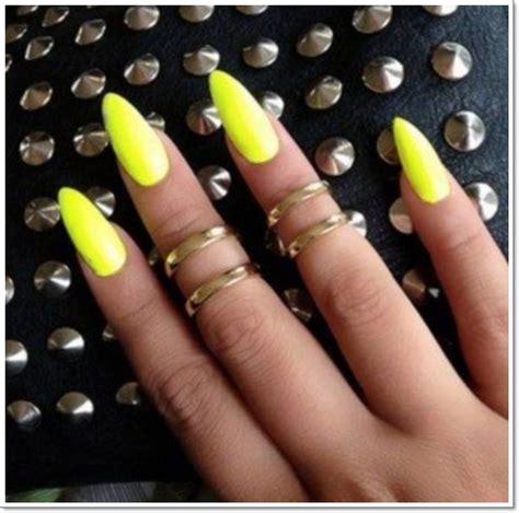 solid color acrylic nails solid color stiletto nails another heaven