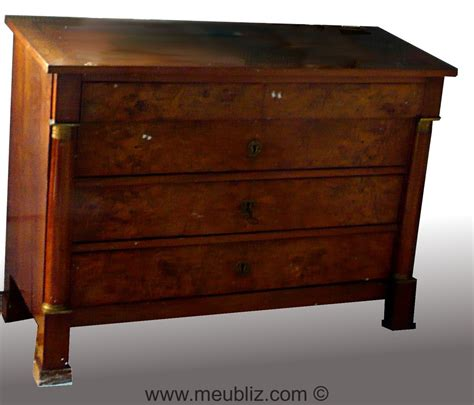 empire kommode commode et chiffonnier empire bois indig 232 ne ou acajou