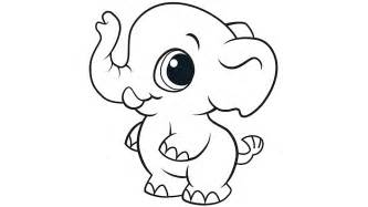 baby elephant coloring pages baby elephant coloring pages to and print for free
