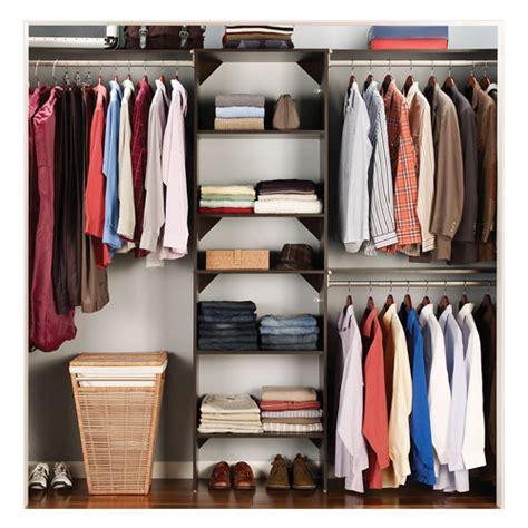 rangement garde robe organisateur de garde robe rona