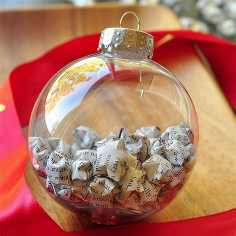 Clear Ornament Ideas - 20 elegantly adorable ways to fill clear ornaments the