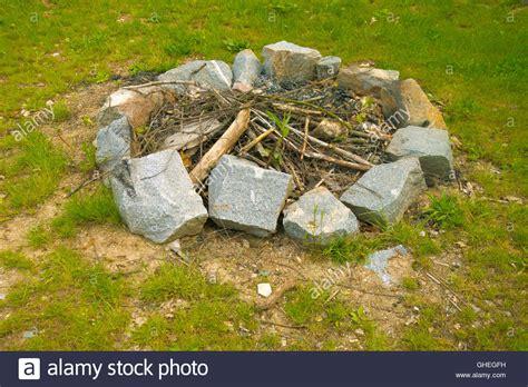 Garten Feuerstelle 1854 by Stones Stockfotos Stones Bilder Alamy