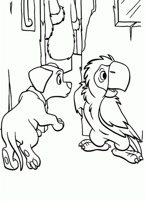 102 dalmatians coloring pages coloring home