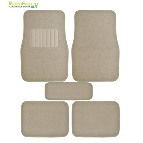 premium quality beige carpet floor mats