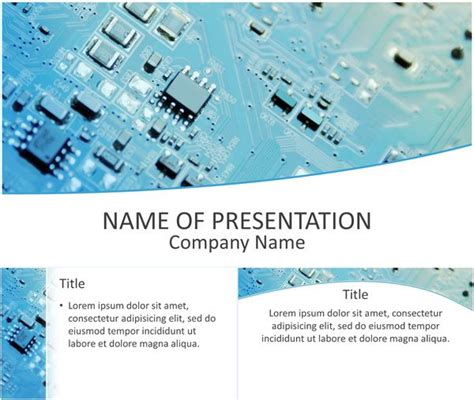 presentation templates for electronics 1000 images about computer and technology on pinterest