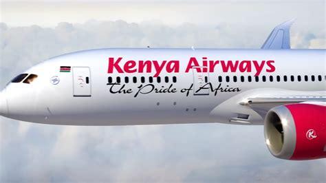 kenya airways showcase  interior including flatbeds