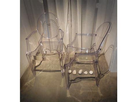 sedie kartell louis ghost prezzo sedia kartell set 4 sedie louis ghost kartell in offerta