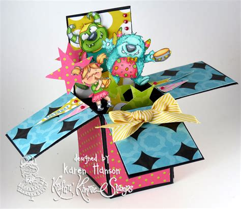 how to make card in a box pop up box card tutorial scrappy canuck studios