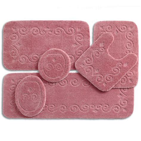 jc penney bathroom rugs jcpenney home blair bath rug collection jcpenney