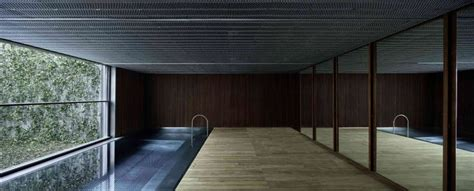 House With Pools aa house barcelona spain by oab modern home