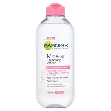 Pembersih Make Up Garnier Garnier Skin Micellar Cleansing Water 400ml Hq Hair
