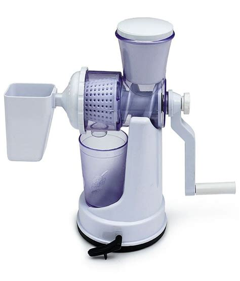 Juicer Oxone 4 In 1 amiraj fruit vegetable juicer white buy at best price in india snapdeal