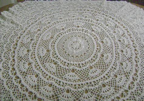 pattern crochet round tablecloth free round crochet tablecloth patterns memes