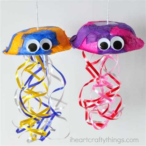 craft for kid colorful jellyfish craft for i crafty things