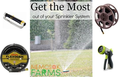 Best Way To Get Out Of Your System Detox by 5 Ways To Use Sprinklers Nemcsok Farms