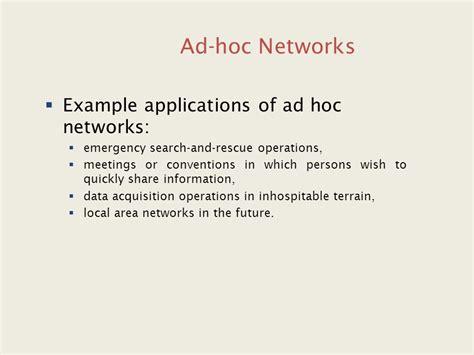 ns3 tutorial ad hoc unit v ad hoc networks ppt video online download