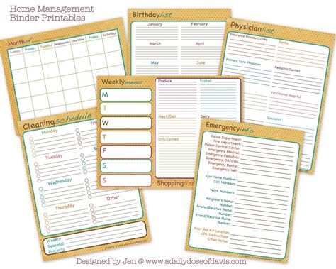 home organization binder life more simply tips for creating your home management