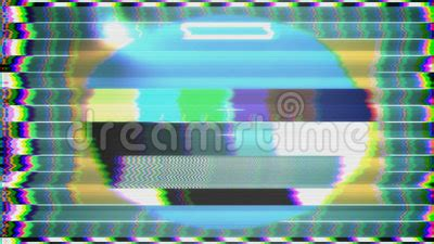 test pattern noise tv test pattern loop stock footage video 57661412