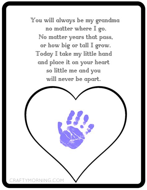 s day card preschool grows template never be apart poem printable crafty morning