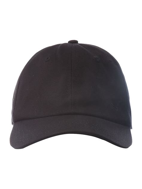 Baseball Hat Black lyst howick baseball cap in black for