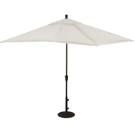 Hton Bay Patio Umbrella Rectangular Patio Umbrella California Umbrella Rectangular 11 X 8 Ft Aluminum Patio Umbrella