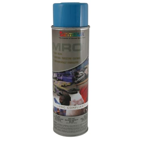 spray paint information shop seymour safety blue indoor outdoor spray paint at