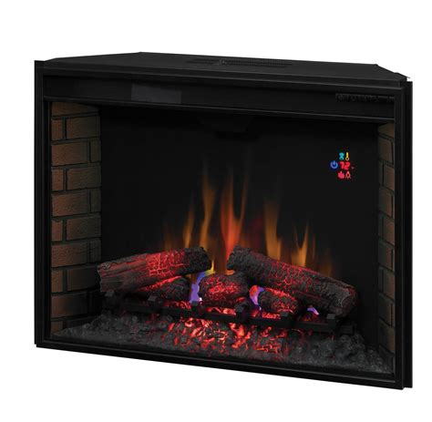 classic 33ef023gra 33 inch electric fireplace insert